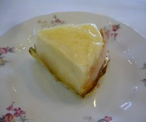 スフレヨーグルトチーズケーキ